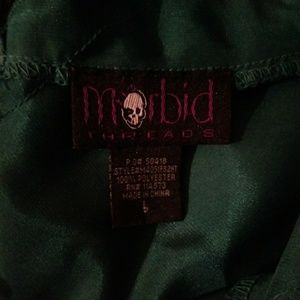 Morbid threads beautiful silk lace blouse